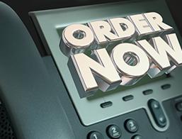 Order Now Phont Illustration